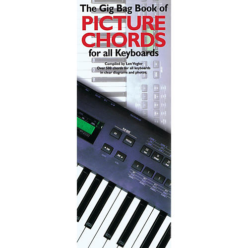Music Sales The Gig Bag Book of Picture Chords for All Keyboards Music Sales America Series Written by Leonard Vogler-thumbnail