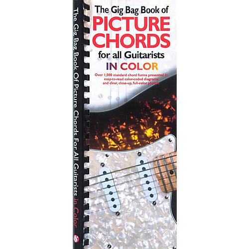 Amsco The Gig Bag Book of Picture Chords for all Guitarists in Color Book
