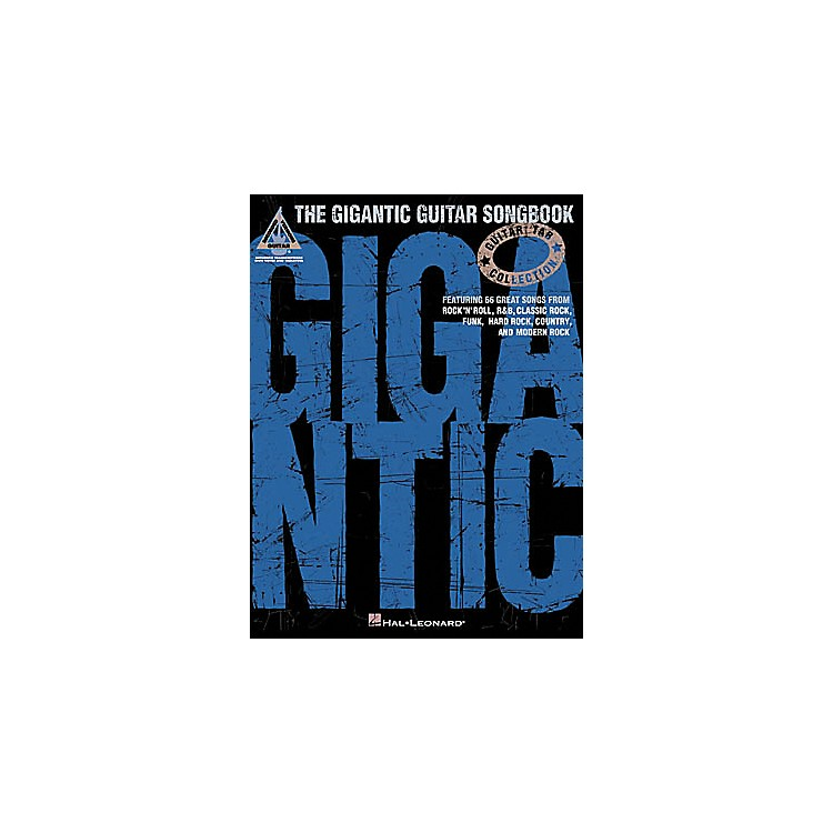 Hal Leonard The Gigantic Guitar Tab Book