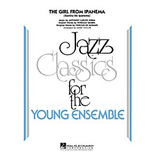 Hal Leonard The Girl From Ipanema Jazz Band Level 3 by Antonio Carlos Jobim Arranged by Mark Taylor