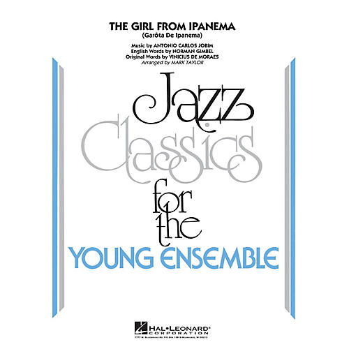 Hal Leonard The Girl From Ipanema Jazz Band Level 3 by Antonio Carlos Jobim Arranged by Mark Taylor-thumbnail