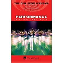 Hal Leonard The Girl from Ipanema (Garôta de Ipanema) Marching Band Level 3-4 Arranged by Paul Murtha