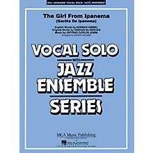 Hal Leonard The Girl from Ipanema (Key: F) Jazz Band Level 3 Composed by Antonio Jobim