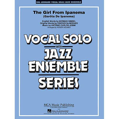 Hal Leonard The Girl from Ipanema (Key: F) Jazz Band Level 3 Composed by Antonio Jobim-thumbnail