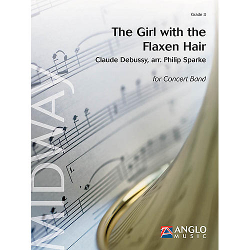 De Haske Music The Girl with the Flaxen Hair (Grade 3 - Score and Parts) Concert Band Level 3 Arranged by Philip Sparke-thumbnail