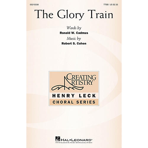 Hal Leonard The Glory Train TTBB composed by Robert S. Cohen-thumbnail