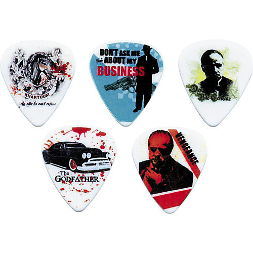 Clayton The Godfather Guitar Picks - 1 Dozen Medium