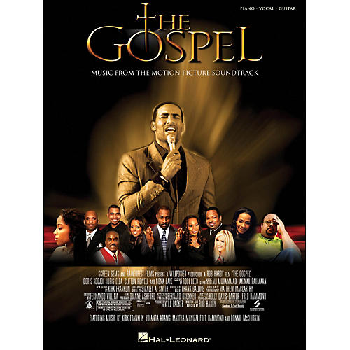 Hal Leonard The Gospel Music From The Motion Picture Soundtrack arranged for piano, vocal, and guitar (P/V/G)-thumbnail