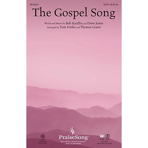PraiseSong The Gospel Song CHOIRTRAX CD Arranged by Tom Fettke-thumbnail