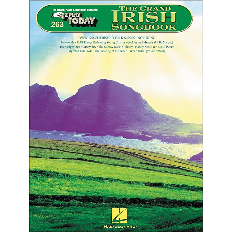 Hal Leonard The Grand Irish Songbook E-Z Play 263
