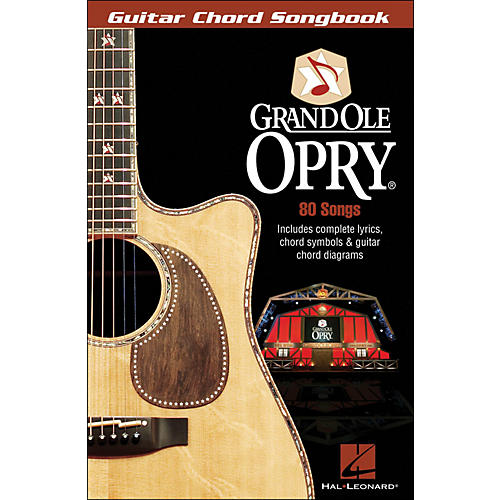 Hal Leonard The Grand Ole Opry Guitar Chord Songbook