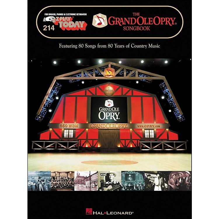 Hal LeonardThe Grand Ole Opry Songbook E-Z Play 214