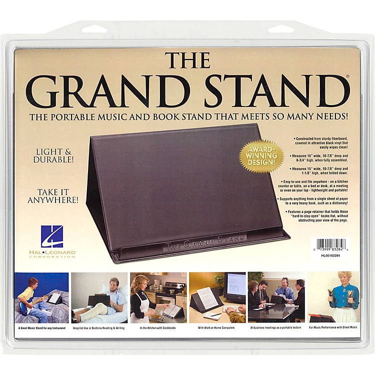 Hal LeonardThe Grand Stand Portable Music and Book Stand
