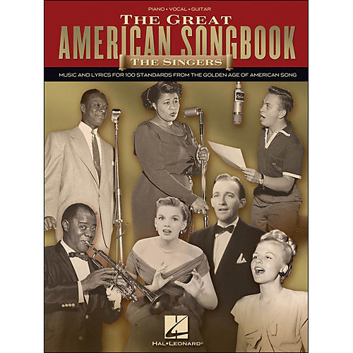 Hal Leonard The Great American Songbook - The Singers arranged for piano, vocal, and guitar (P/V/G)-thumbnail