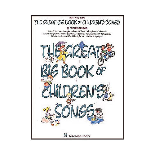 Hal Leonard The Great Big of Children's Songs Piano/Vocal/Guitar Songbook-thumbnail