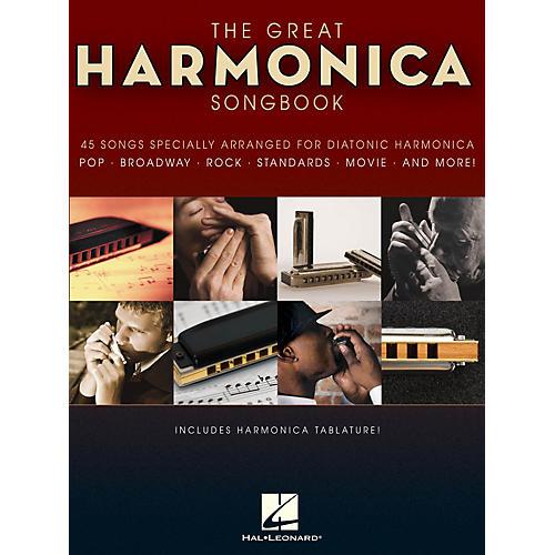 Hal Leonard The Great Harmonica Songbook Harmonica Series Softcover-thumbnail