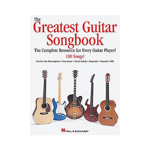 Hal Leonard The Greatest Guitar Tab Book