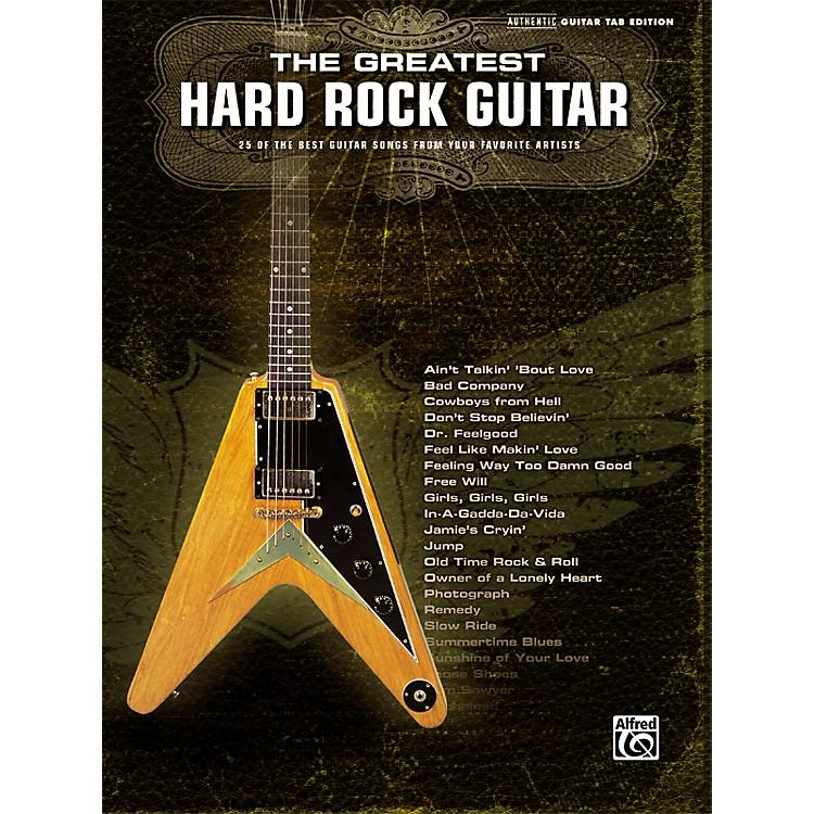 AlfredThe Greatest Hard Rock Guitar Tab Songbook