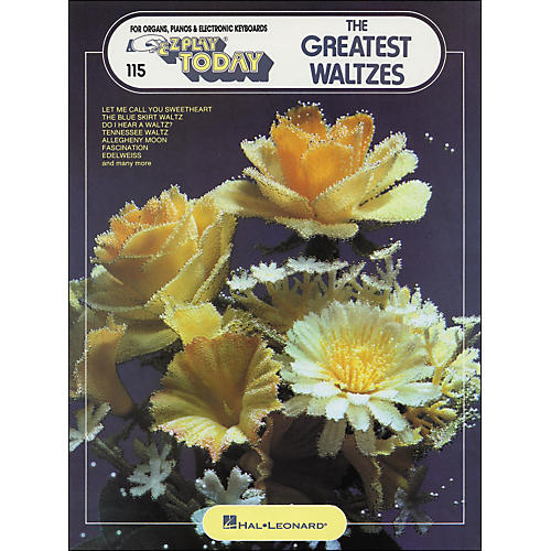 Hal Leonard The Greatest Waltzes E-Z play 115