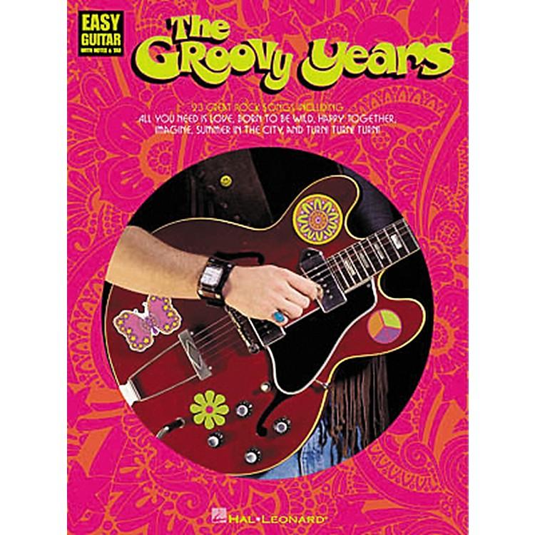 Hal LeonardThe Groovy Years Easy Guitar Tab Songbook