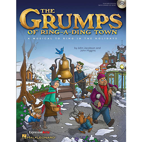 Hal Leonard The Grumps of Ring-A-Ding Town (A Holiday Musical for Young Voices) PREV CD Composed by John Jacobson-thumbnail