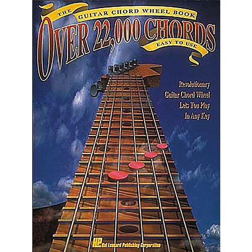 Hal Leonard The Guitar Chord Wheel Book