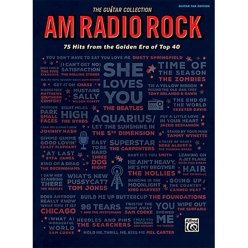 Alfred The Guitar Collection: AM Radio Rock - Guitar TAB Edition Songbook
