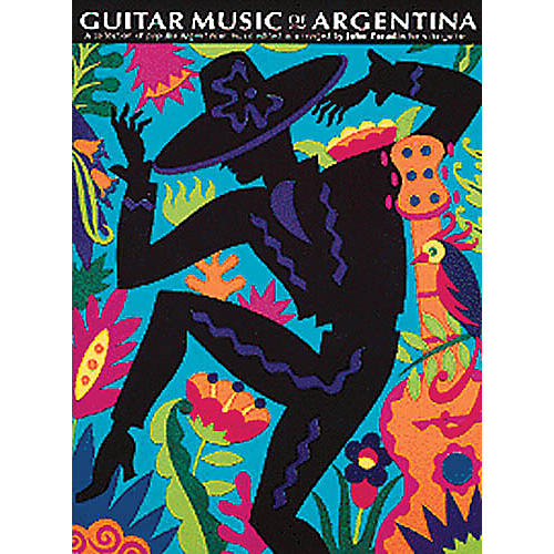 Music Sales The Guitar Music of Argentina Music Sales America Series Softcover-thumbnail