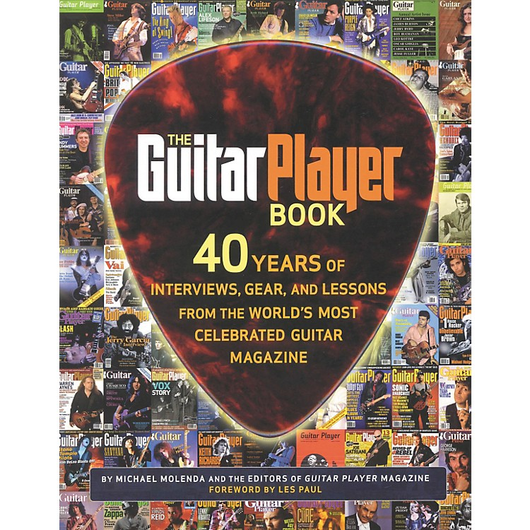 Hal Leonard The Guitar Player Book - The Ultimate Resource for Guitarists