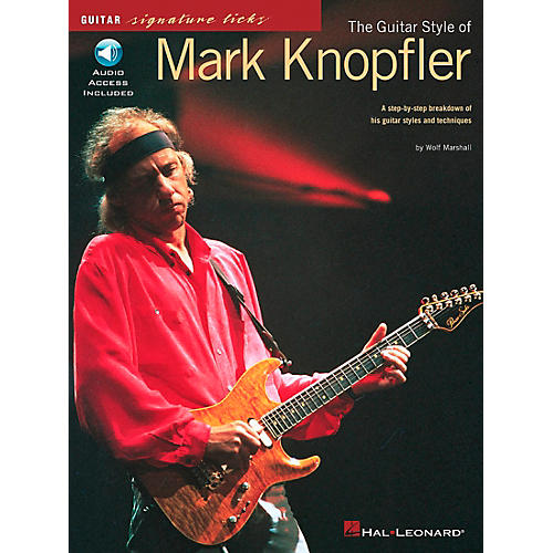 Hal Leonard The Guitar Style of Mark Knopfler Signature Licks Book with CD