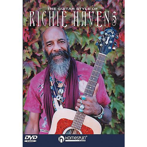 Homespun The Guitar Style of Richie Havens (DVD)-thumbnail