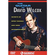 Homespun The Guitar of David Wilcox Instructional/Guitar/DVD Series DVD Performed by David Wilcox