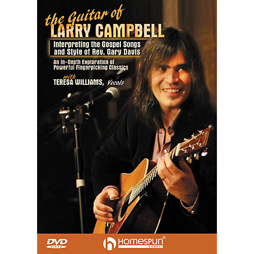 Homespun The Guitar of Larry Campbell Homespun Tapes Series DVD Written by Larry Campbell-thumbnail
