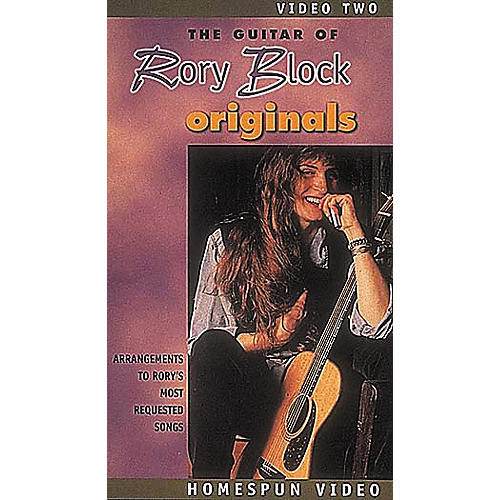 Homespun The Guitar of Rory Block 2 (VHS)