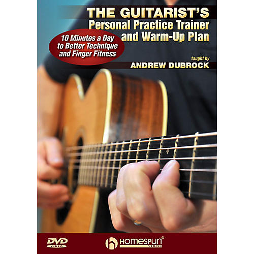 Homespun The Guitarist's Personal Practice Trainer and Warm-Up Plan Homespun Tapes Series DVD by Andrew DuBrock-thumbnail