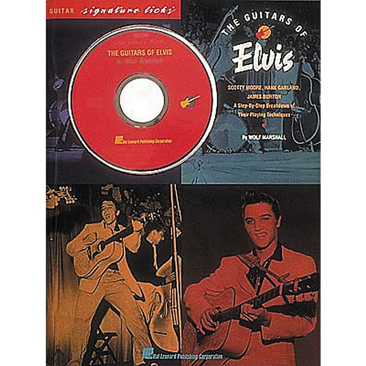 Hal Leonard The Guitars of Elvis Signature Licks Book & CD
