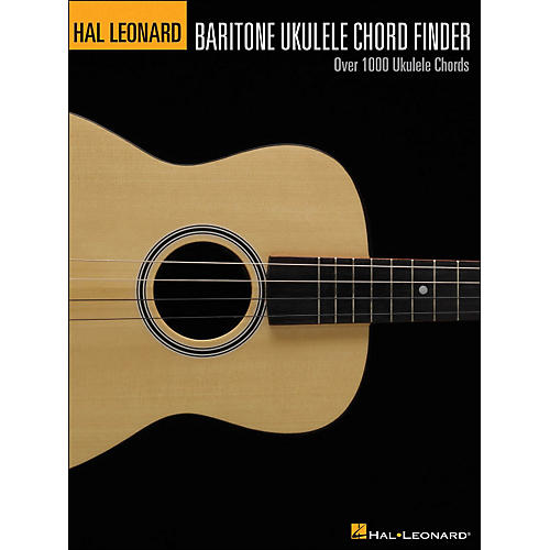 Hal Leonard The Hal Leonard Baritone Ukulele Chord Finder (9X12 Size)