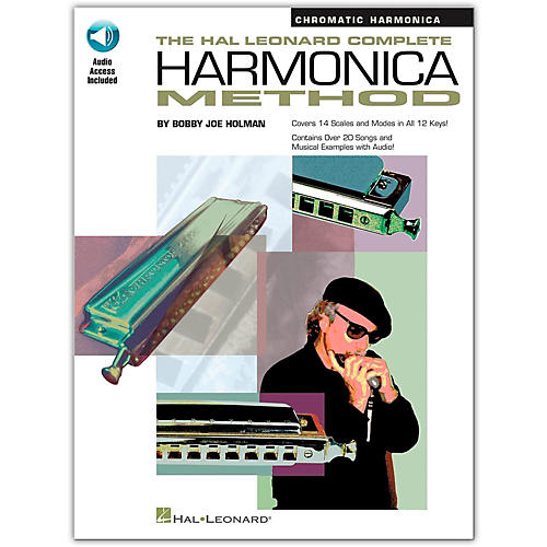 Hal Leonard The Hal Leonard Complete Harmonica Method Book/CD Chromatic Harmonica