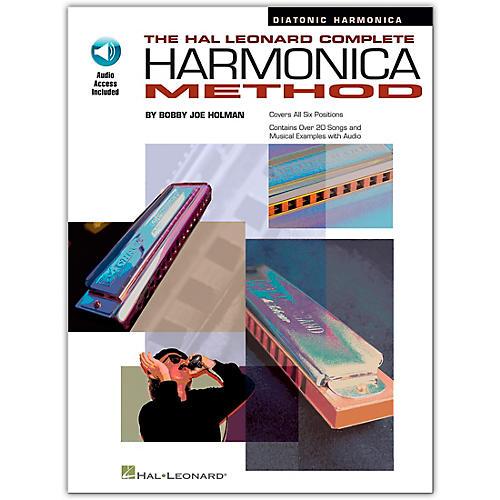 Hal Leonard The Hal Leonard Complete Harmonica Method Book/CD Diatonic Harmonica