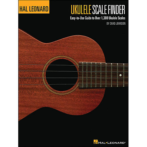 Hal Leonard The Hal Leonard Ukulele Scale Finder Book 9 X 12  Size
