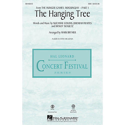 Hal Leonard The Hanging Tree (from The Hunger Games: Mockingjay Part I) SSA arranged by Mark Brymer-thumbnail