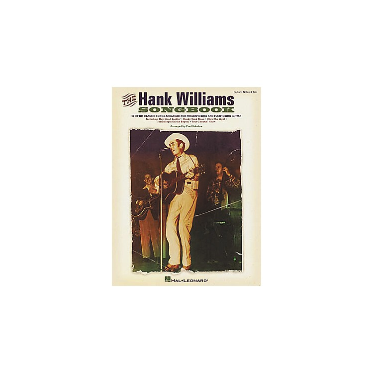 Hal Leonard The Hank Williams Guitar Tab Book