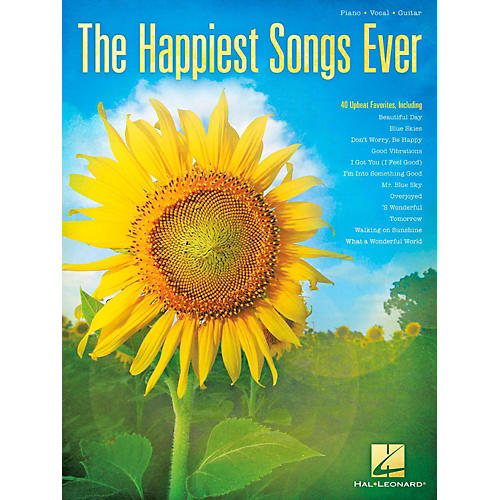 Hal Leonard The Happiest Songs Ever Piano/Vocal/Guitar-thumbnail