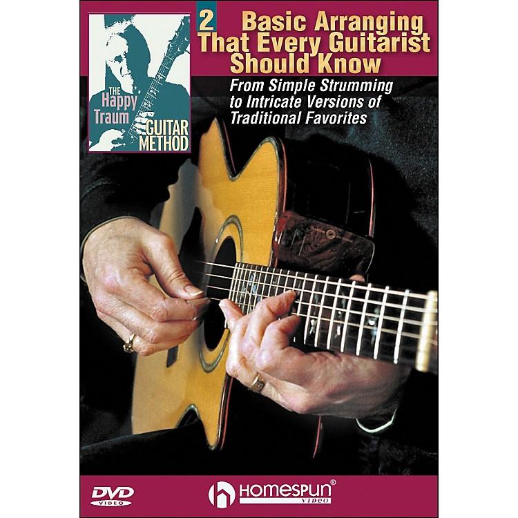 HomespunThe Happy Traum Guitar Method: Basic Arranging Techniques DVD 2