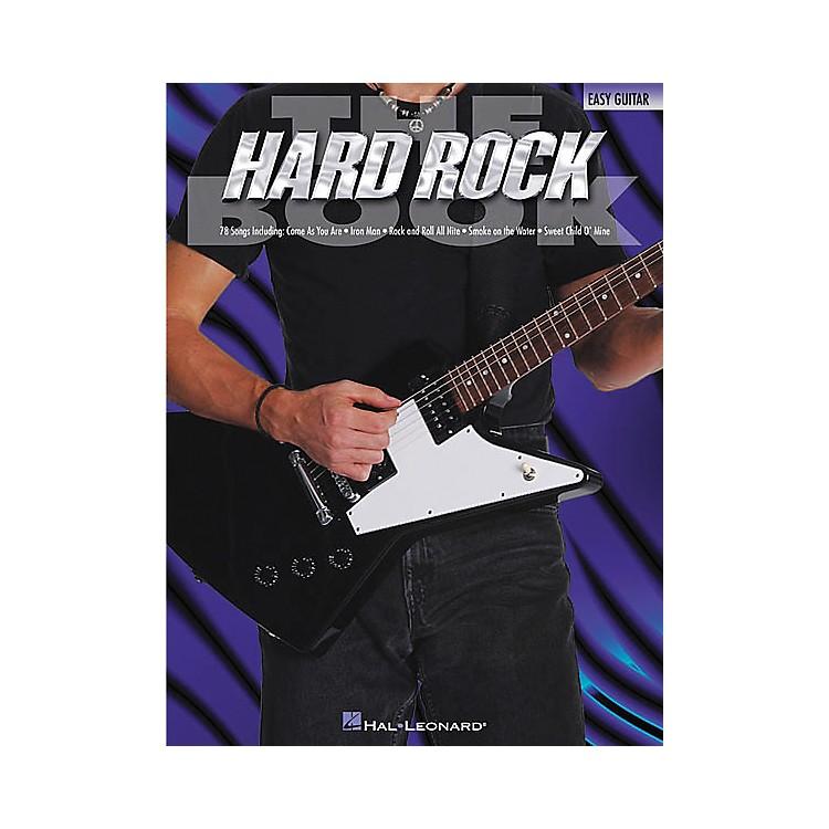 Hal LeonardThe Hard Rock Easy Guitar Tab Songbook