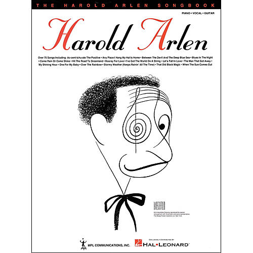 Hal Leonard The Harold Arlen Songbook arranged for piano, vocal, and guitar (P/V/G)-thumbnail