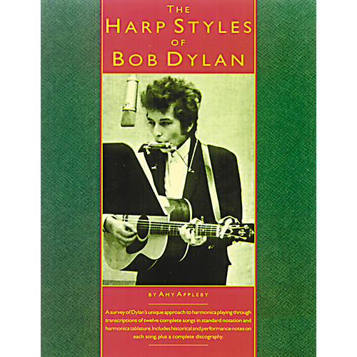 Music Sales The Harp Styles of Bob Dylan (Book)-thumbnail