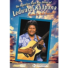 Homespun The Hawaiian Slack Key Guitar of Ledward Kaapana Instructional/Guitar/DVD Series DVD by Ledward Kaapana
