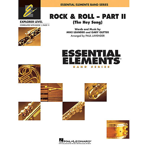 Hal Leonard The Hey Song (Rock & Roll - Part II) Concert Band Level 0.5 Arranged by Paul Lavender