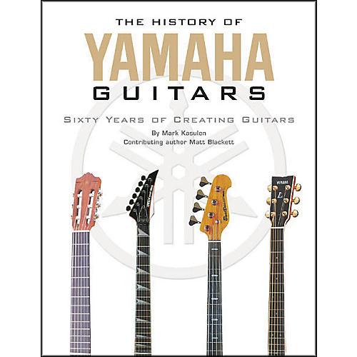 Hal Leonard The History of Yamaha Guitars-thumbnail